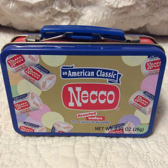 Check out this item in my Etsy shop https://www.etsy.com/listing/513019280/vintage-necco-candy-tin-lunchbox-small