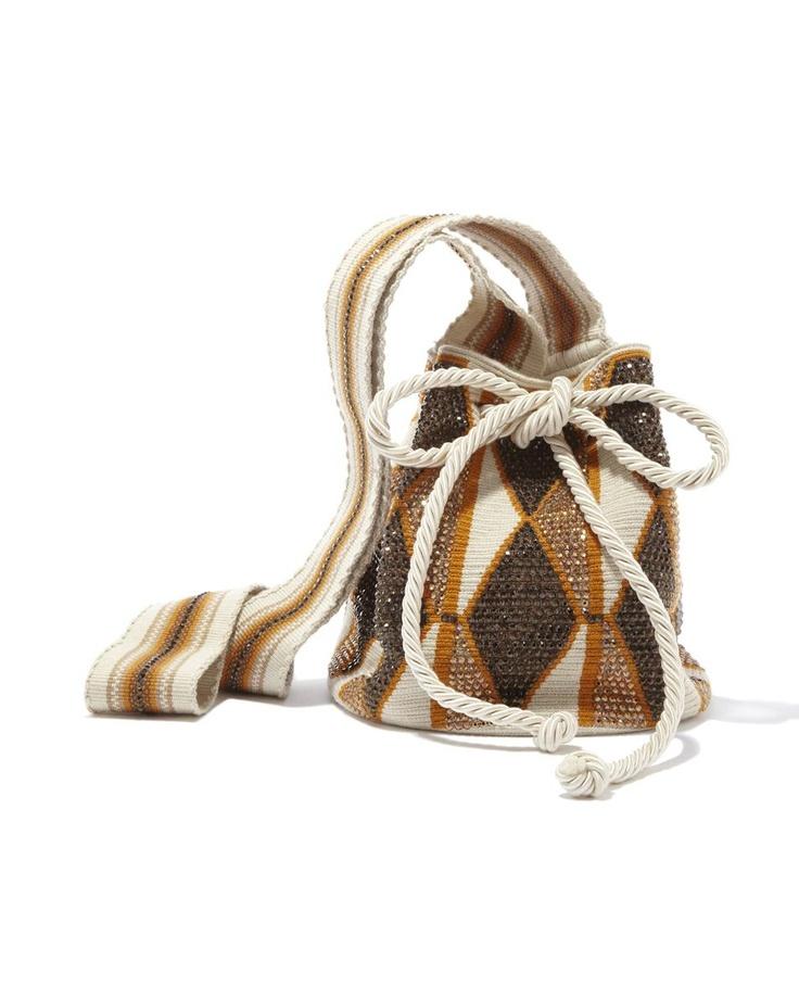 Silvia Tcherassi Wayuu Mochila £1315 handmade in Colombia