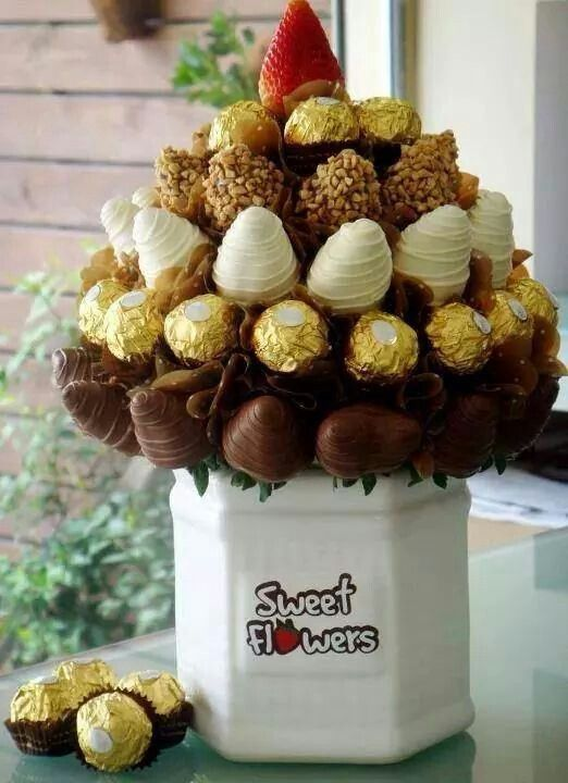 8 best sweet flowers images on Pinterest | Chocolate covered ...
