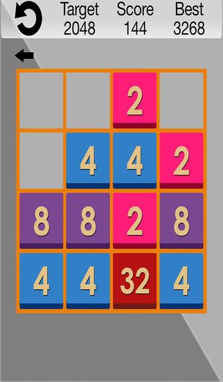 This is one of metro app using metro UI. Which gives you swipe games feel & smoothness! 2048 Game is for games for adults and kids also.  HOW TO PLAY:  1. Swipe (Up, Down, Left, Right) to move the tiles in direction.  2. When two tiles with the same number touch, they merge into one.  3. Once the 2048 tile is created, the player wins!