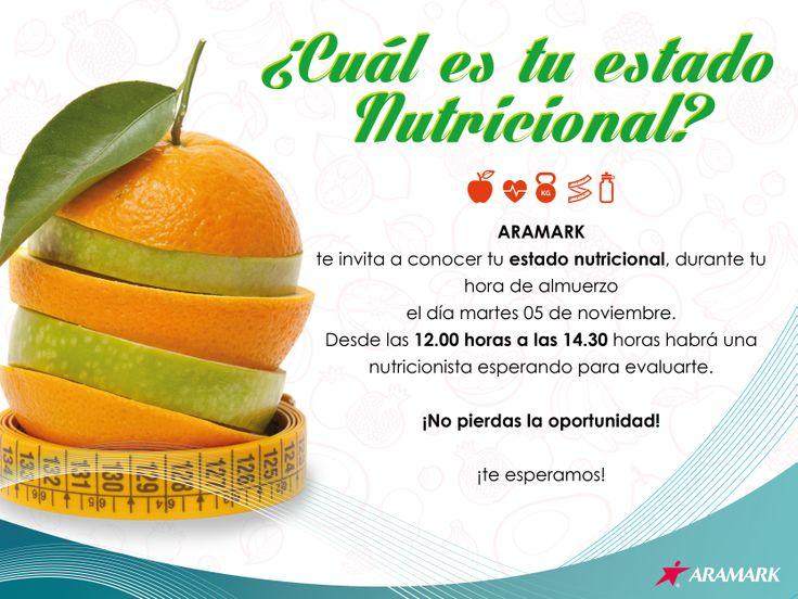 Mailing Estado nutricional. Diseño y Redacción.