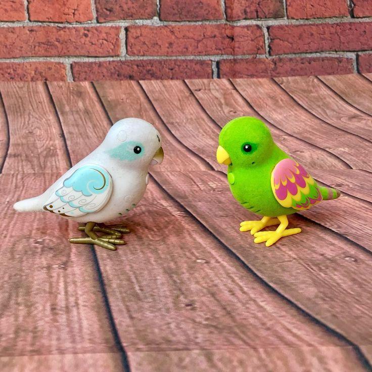 LITTLE LIVE PETS TWEET TALKING BIRDS   SILLY BILLY GREEN & ANGELIC ANGELA   KIDS