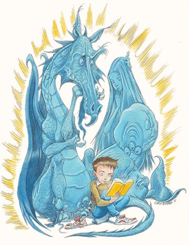 Weekend course Access and Opportunity for Children and Young People: Lighting the Future illustration by Chris Riddell