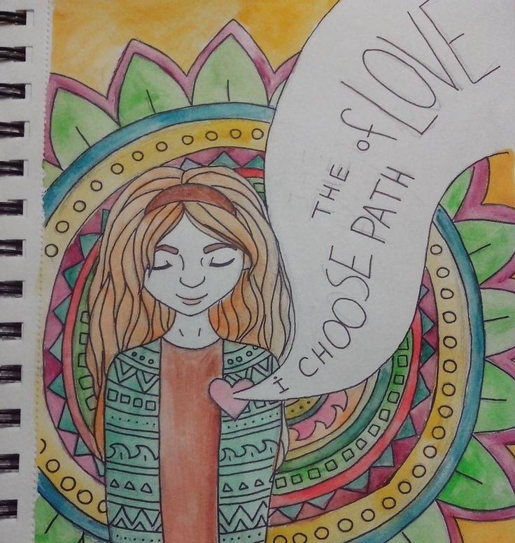 #zaryart #art #painting #drawing #colors #pathoflove #aquarelle #watercolor #girl #hippie #заряарт #арт #рисование #цвета #путьлюбви #акварель #девушка #хиппи by svetlanazarya15