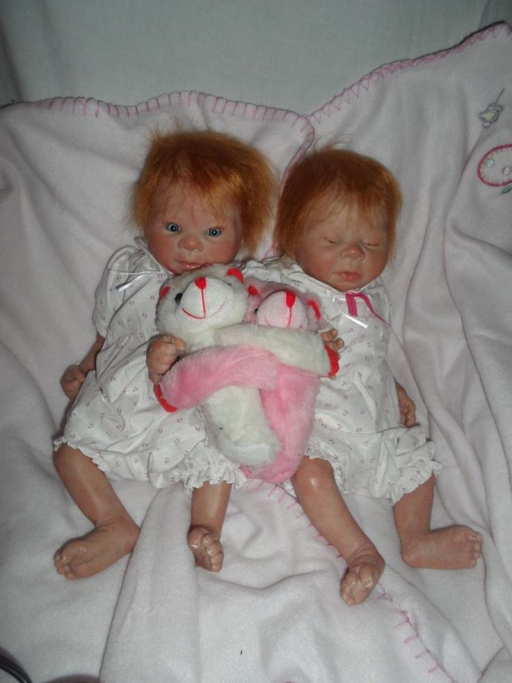 Reborn Baby Twins Kadence And Kaelin Sculpted By Denise