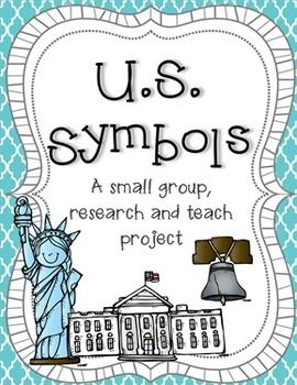 Instead of teaching your kids about US symbols, why don't you have them choose one and teach the class? This US Symbols expert project is perfect for any grade!