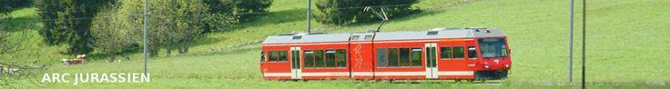 Prenez votre train du silence intérieur...Un train dans notre jura suisse,  il traverse nos cantons de Neuchâtel Berne Jura.