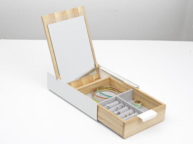 Pudełko na biżuterię z lusterkiem Umbra Reflexion