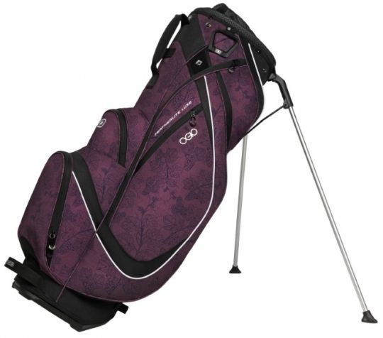 Merlot Ogio Women's Featherlite Luxe Golf Stand Bag. Find the best ladies golf bags  at #lorisgolfshoppe