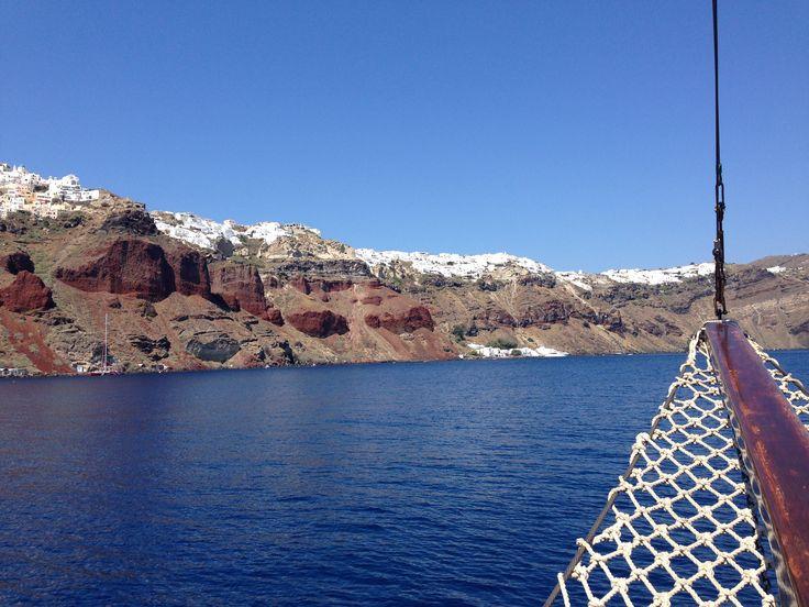Santorini cruise Honeymoon