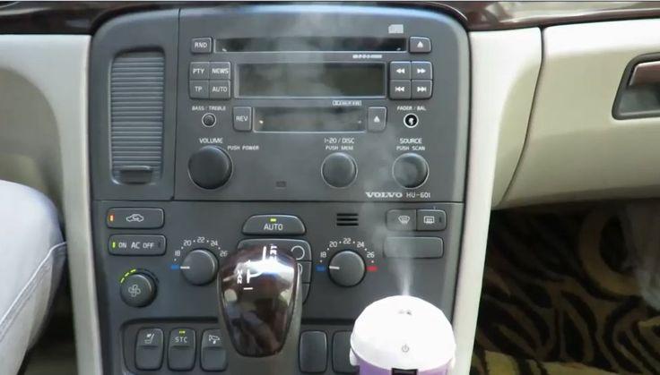 Mini Umidificador CARRO Aromatizador Vaporizador Portátil De Ar Para Carro 12v - Adrishop - Sua Loja de Variedades