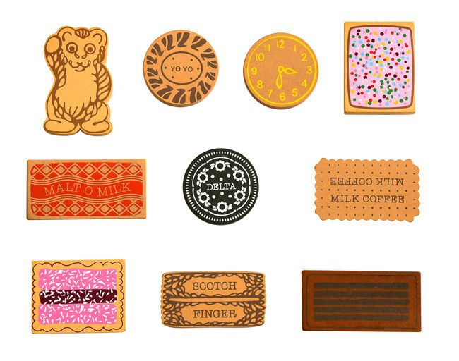 A collection of ten iconic Australian toy wooden biscuits. Dipped into a cup of tea or simply munched on their...