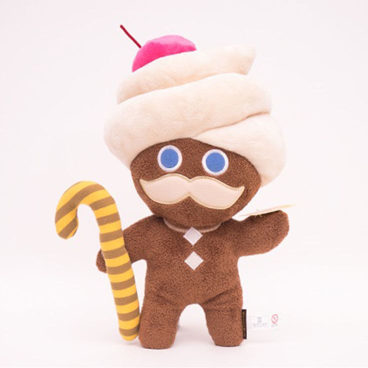Moblie Game Cookie Run Character Plush Doll 30cm 12in Butter Cream Choco Cookie #Cookierun