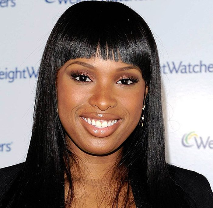 Black Hairstyles With Bangs 2013 ~ http://wowhairstyle.com/black-hairstyles-with-bangs/