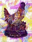 "New artwork for sale! - "" Rooster Poultry Animal Chicken  by PixBreak Art "" - http://ift.tt/2vRWfks"
