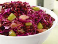 Cantinho Vegetariano: Salada de Feijão Azuki (vegana)