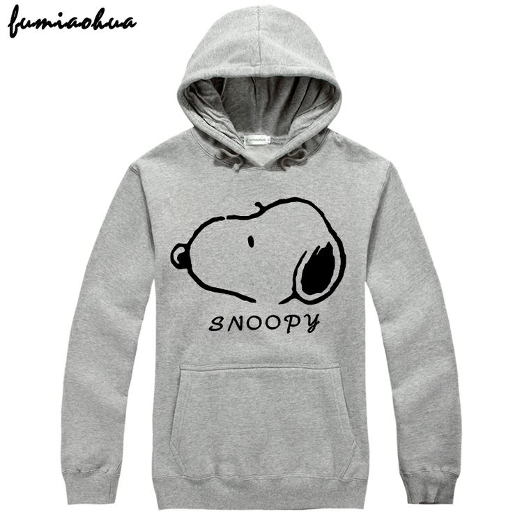 Casual men's clothing outerwear SNOOPY sweatshirt thickening spring pullover hoody clothes 2014 new new fashion marvel DC $31.00