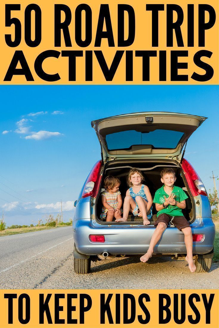 50 fantastic road trip activities for kids | future vacations | road