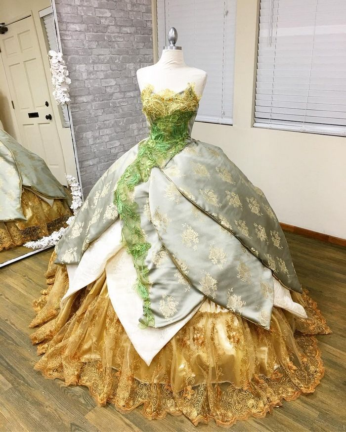This Dad Makes Disney-Inspired Dresses For His Kids And They Look Too Good To Be Real