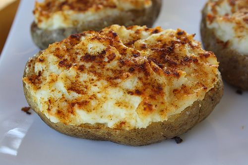 Creamy Twice Baked Potato Recipe | Free Delicious Italian Recipes | Simple Easy Recipes Online | Dessert Recipes