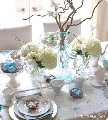 Cottage Tablescapes