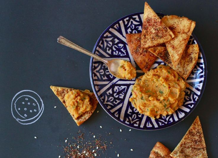 Try out this Za'atar-dusted pita chips recipe #FoodRepublic
