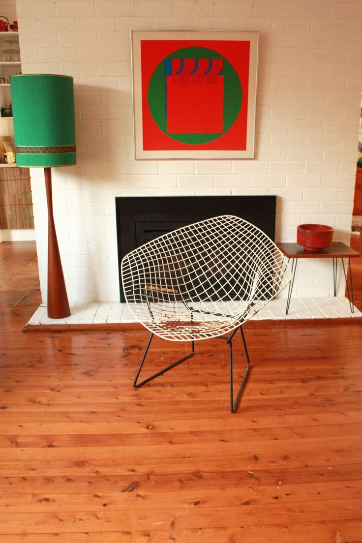 Bertoia diamond chair vintage - Vintage Harry Bertoia Diamond Chair C1952 By Tribecasvintage On Etsy