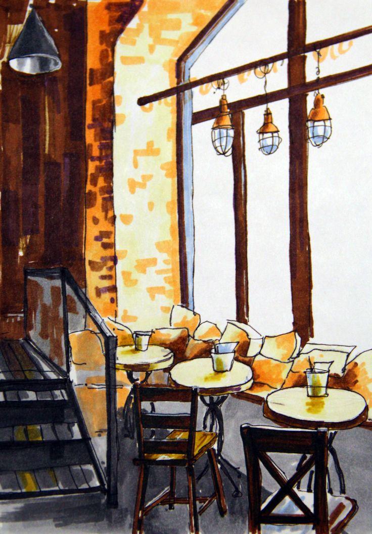 Café (markers)