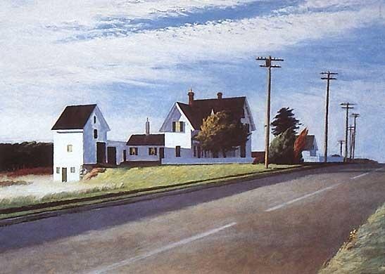 Les 25 meilleures id es concernant peintures de edward hopper sur pinterest - Edward hopper maison ...