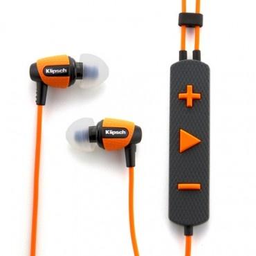 Klipsch Image S4i Rugged Earbuds in #Orange @Klipsch