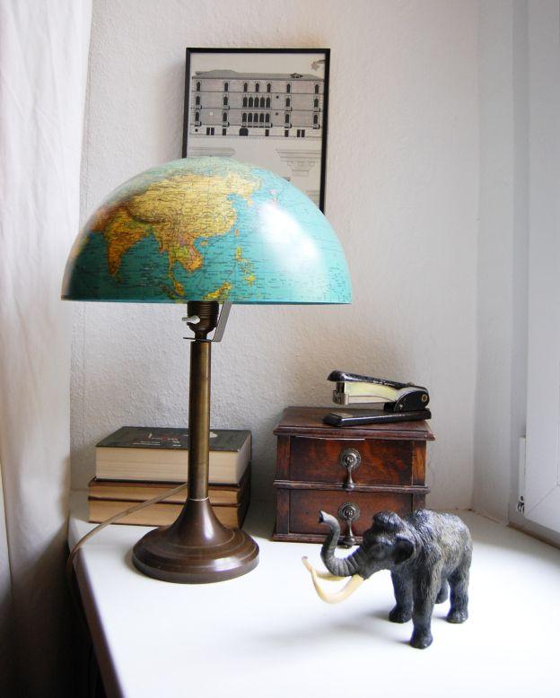 die besten 25 globus lampe ideen auf pinterest globus upcycled crafts und world market m bel. Black Bedroom Furniture Sets. Home Design Ideas