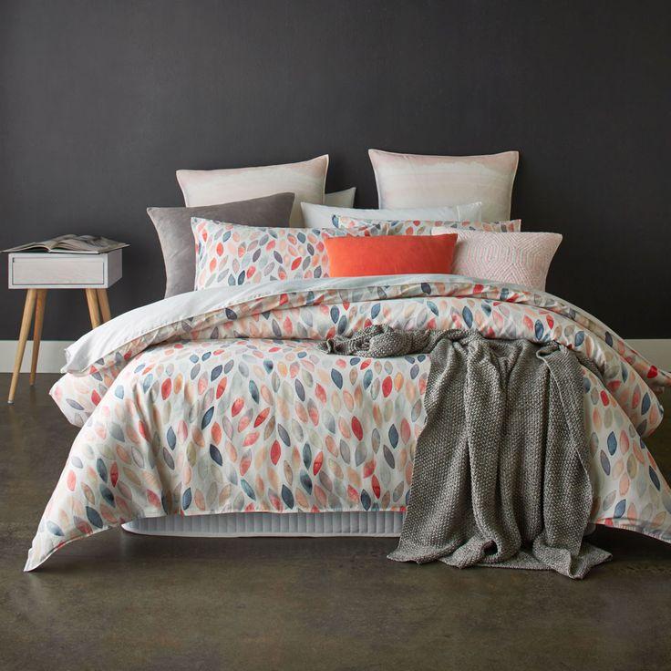 Mercer + Reid Dusk - Bedroom Quilt Covers & Coverlets - Adairs online