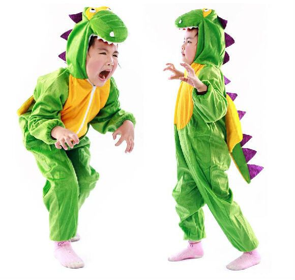Animal Dinosaur Costumes For Kid Children Halloween Party Cartoon Character Costume E22981