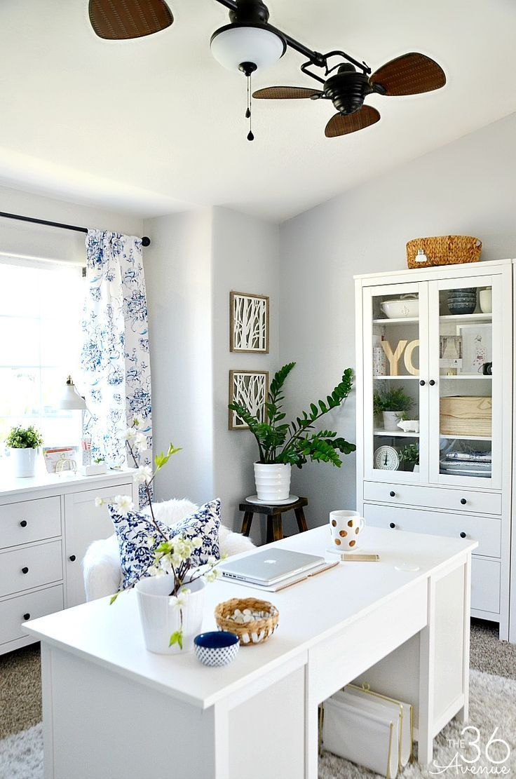 Home Office Decor 10 http://the36thavenue.com - 25+ Best Ideas About Home Office Desks On Pinterest Home Office