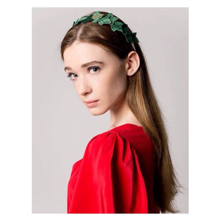 C by Cosima for Cloudmine Green velvet headpiece C by Cosima Borawska Headpiece. Handmade and one of a kind.  Headpieces, headbands, crowns and combs. https://m.facebook.com/cbycosimaborawska