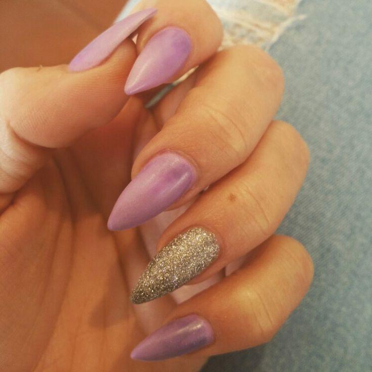 Purple & Glitter...