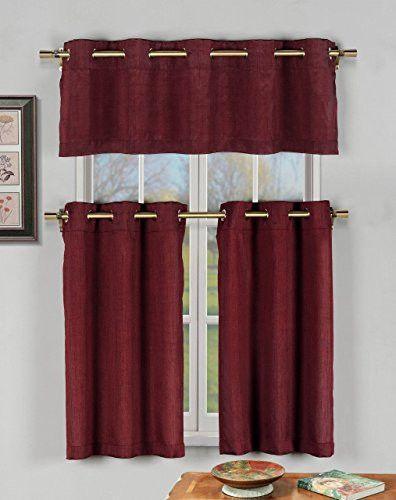 17 Best Ideas About Kitchen Curtains On Pinterest