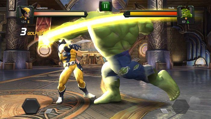 El juego de lucha Marvel: Batalla de Superhéroes llega a la App Store
