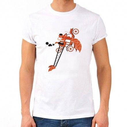 Autocosmico T-shirt, White
