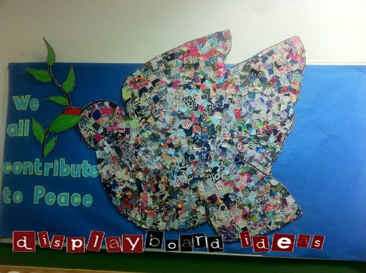 Classroom Wall Decoration Ideas For Preschool ~ Peace bulletin board ideas diversity theme
