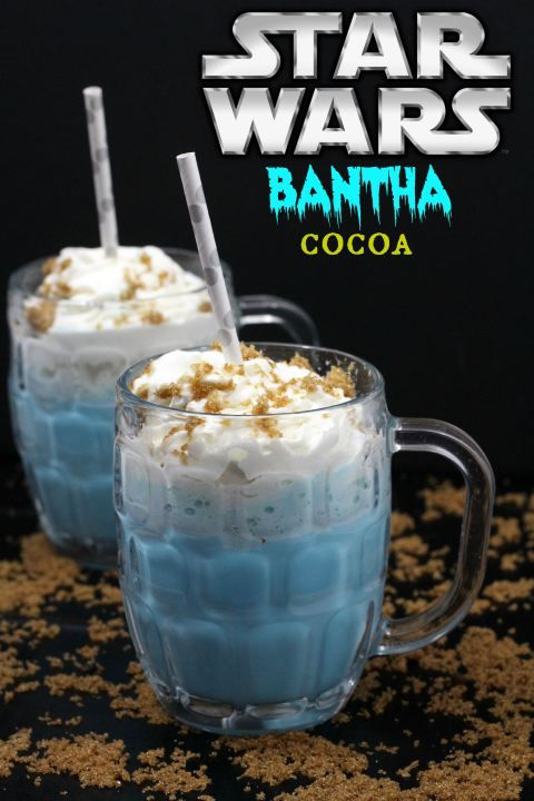 Celebrating the release of the new Star Wars toys or just excited for Star Wars Episode VII: The Force Awakens? Try this Star Wars bantha cocoa recipe.