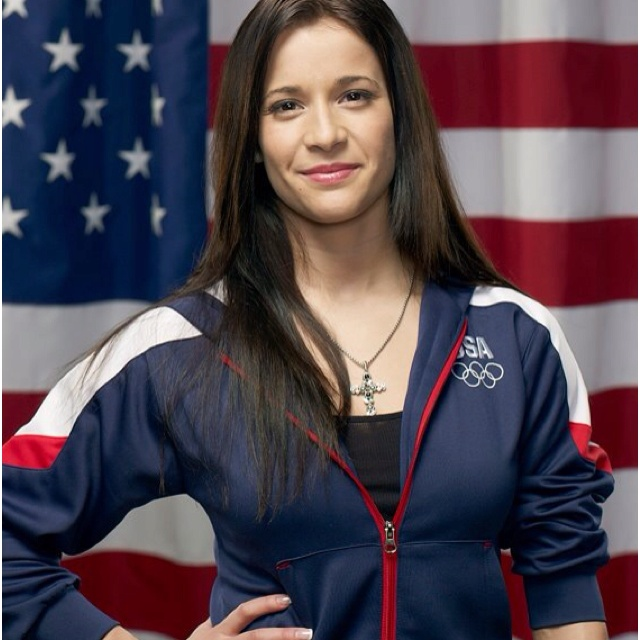 Alicia Sacramone, 2008 Olympic silver medalist, London 2012 olympic athlete. can't wait for the Olympics!