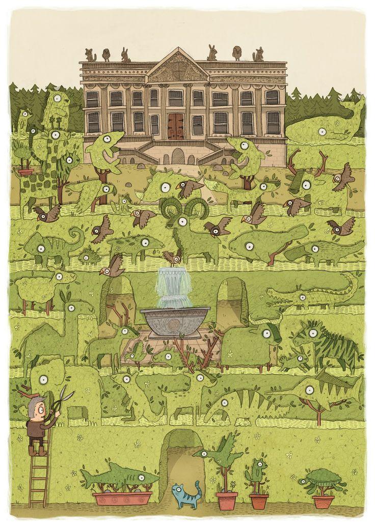 Brendan Kearney - Illustration and design