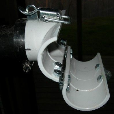 Repair stand clamp