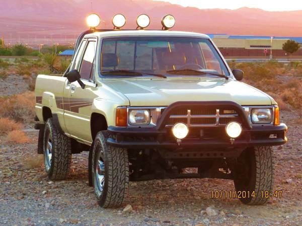 1986 Toyota SR5 4x4 Pick-Up