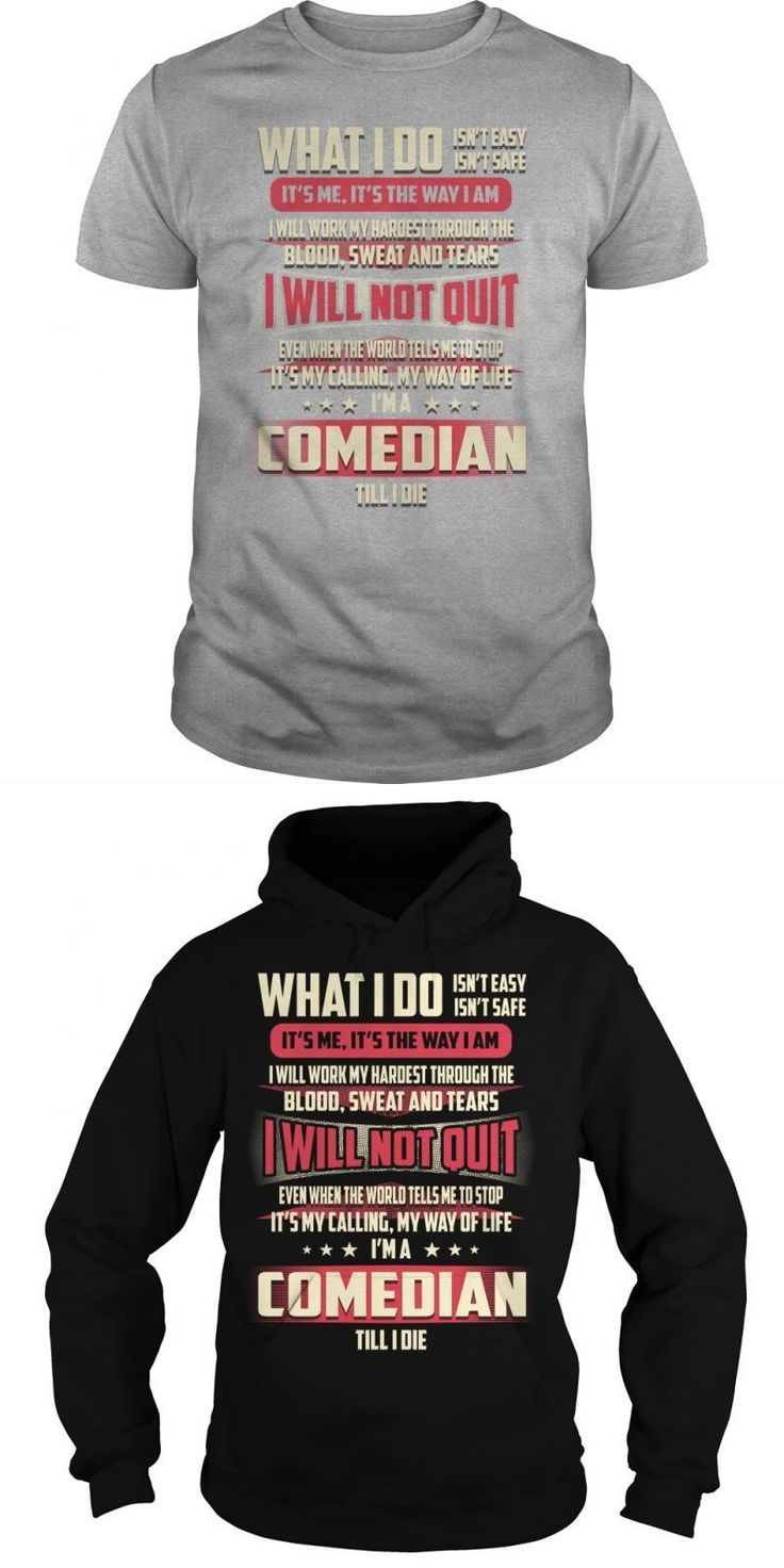 Comedian Job Title Tshirts.  Guys Tee Hoodie Ladies Tee Redd Foxx Comedian T-shirts Comedian Red Fox T Shirt Comedian Red Fox T Shirt Comedian T Shirts