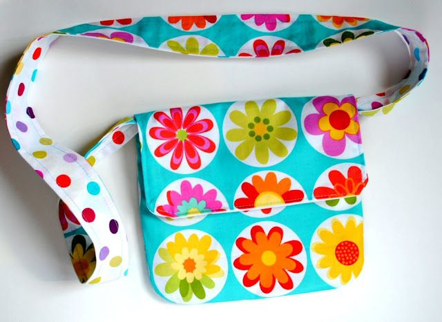 Reversible bolsa de mensajero Tutorial CrazyLittleProjects.com