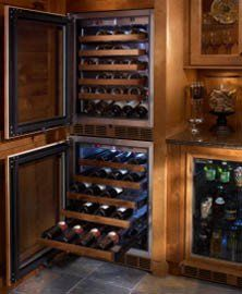 Perlick Panel Ready Built In Wine Cooler HP24WO4R by Perlick. $3499.00. Perlick Panel Ready Built In Wine Cooler HP24WO4R. Designed with fully-integrated depth to allow flush fit with surrounding cabinetry (with 3/4 wood overlay). Zero-clearance hinging allows for abutment with surrounding cabinetry. Perlick's exclusive Variable Speed Compressor. Front-vented, forced-air refrigeration. Industry Exclusive full-extension shelves. Industry Exclusive stainless steel interior. Two...