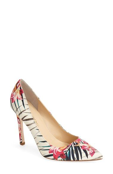 Summer Floral Pumps | Nordstrom Half Yearly Sale | Storybook Apothecary