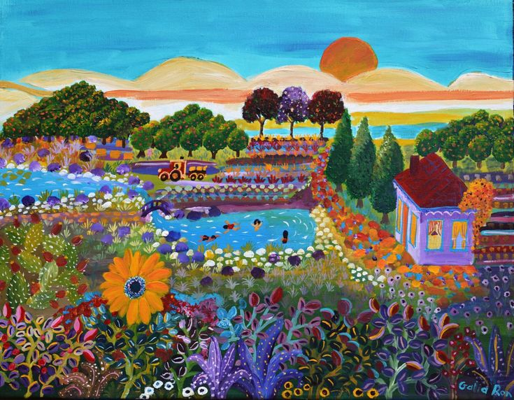 ציורים מדהימים מאת גליה רון
